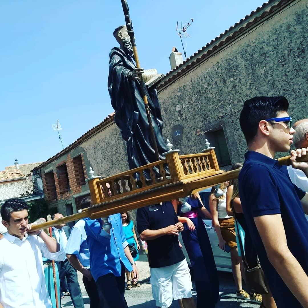 Procesión de nuestro patrono San Benito